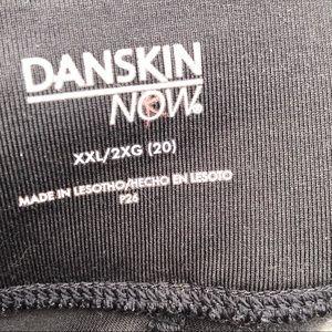 Danskin Now Pants - DANSKIN Yoga Spandex - XXL 2X Workout Leggings